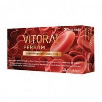 Vitoral Ferrum, 30 capsule,...