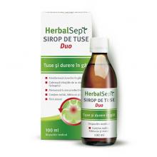 HerbalSept Duo sirop tuse...