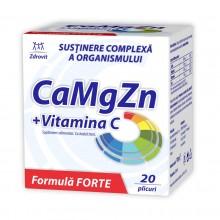 Zdrovit Ca Mg Zn + Vitamina...