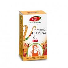 Vitamina C naturală F164  60 capsule Fares
