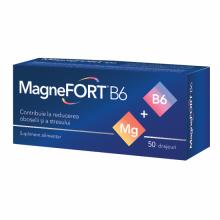 Magnefort B6, 50 drajeuri...